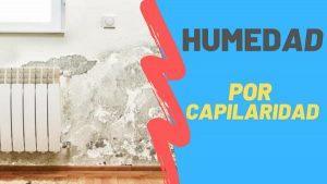 como combatir la humedad por capilaridad