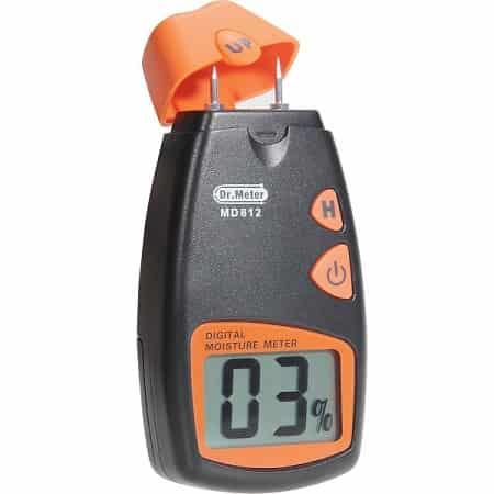 medir la humedad con un higrometro